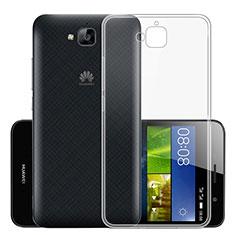 Housse Ultra Fine TPU Souple Transparente T01 pour Huawei Y6 Pro Clair