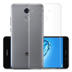 Housse Ultra Fine TPU Souple Transparente T01 pour Huawei Y7 Prime Clair