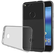 Housse Ultra Fine TPU Souple Transparente T02 pour Google Pixel Gris