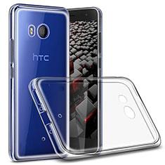 Housse Ultra Fine TPU Souple Transparente T02 pour HTC U11 Clair