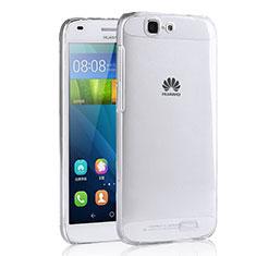 Housse Ultra Fine TPU Souple Transparente T02 pour Huawei Ascend G7 Clair