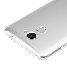 Housse Ultra Fine TPU Souple Transparente T02 pour Huawei Enjoy 7 Plus Clair