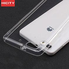 Housse Ultra Fine TPU Souple Transparente T02 pour Huawei G Play Mini Clair