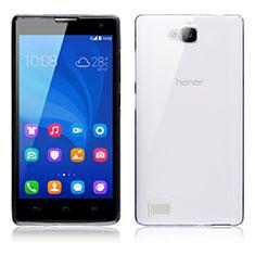 Housse Ultra Fine TPU Souple Transparente T02 pour Huawei Honor 3C Clair