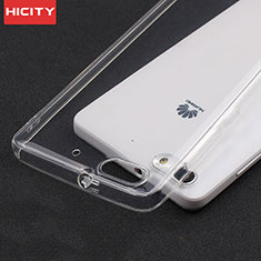 Housse Ultra Fine TPU Souple Transparente T02 pour Huawei Honor 4C Clair