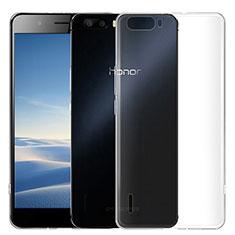 Housse Ultra Fine TPU Souple Transparente T02 pour Huawei Honor 6 Plus Clair