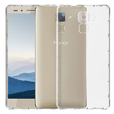 Housse Ultra Fine TPU Souple Transparente T02 pour Huawei Honor 7 Dual SIM Clair