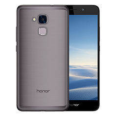 Housse Ultra Fine TPU Souple Transparente T02 pour Huawei Honor 7 Lite Gris