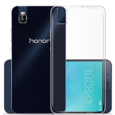 Housse Ultra Fine TPU Souple Transparente T02 pour Huawei Honor 7i shot X Clair