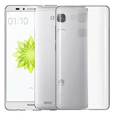 Housse Ultra Fine TPU Souple Transparente T02 pour Huawei Mate 7 Clair
