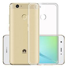 Housse Ultra Fine TPU Souple Transparente T02 pour Huawei Nova Clair