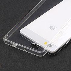 Housse Ultra Fine TPU Souple Transparente T02 pour Huawei P8 Lite Clair