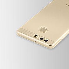 Housse Ultra Fine TPU Souple Transparente T02 pour Huawei P9 Plus Clair