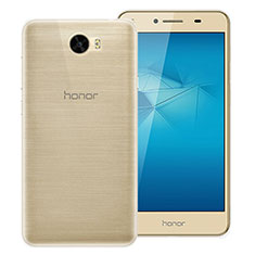 Housse Ultra Fine TPU Souple Transparente T02 pour Huawei Y5 II Y5 2 Clair