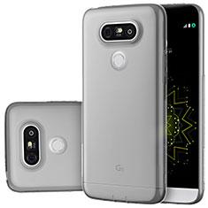 Housse Ultra Fine TPU Souple Transparente T02 pour LG G5 Gris