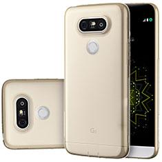 Housse Ultra Fine TPU Souple Transparente T02 pour LG G5 Or
