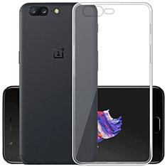 Housse Ultra Fine TPU Souple Transparente T02 pour OnePlus 5 Clair