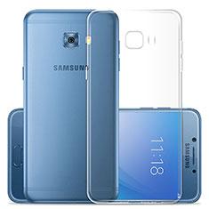 Housse Ultra Fine TPU Souple Transparente T02 pour Samsung Galaxy C7 Pro C7010 Clair