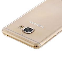 Housse Ultra Fine TPU Souple Transparente T02 pour Samsung Galaxy C7 SM-C7000 Clair