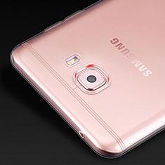 Housse Ultra Fine TPU Souple Transparente T02 pour Samsung Galaxy C9 Pro C9000 Clair
