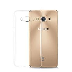 Housse Ultra Fine TPU Souple Transparente T02 pour Samsung Galaxy J3 Pro (2016) J3110 Clair