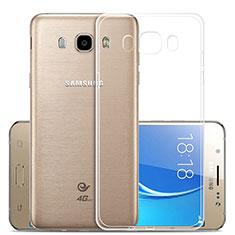 Housse Ultra Fine TPU Souple Transparente T02 pour Samsung Galaxy J5 Duos (2016) Clair