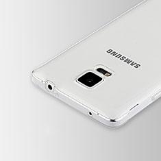 Housse Ultra Fine TPU Souple Transparente T02 pour Samsung Galaxy Note 4 Duos N9100 Dual SIM Clair