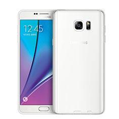 Housse Ultra Fine TPU Souple Transparente T02 pour Samsung Galaxy Note 5 N9200 N920 N920F Clair