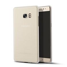 Housse Ultra Fine TPU Souple Transparente T02 pour Samsung Galaxy Note 7 Clair