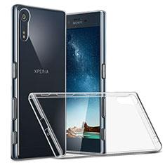 Housse Ultra Fine TPU Souple Transparente T02 pour Sony Xperia XZ Clair