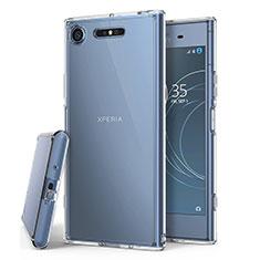 Housse Ultra Fine TPU Souple Transparente T02 pour Sony Xperia XZ1 Clair