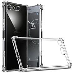 Housse Ultra Fine TPU Souple Transparente T02 pour Sony Xperia XZ1 Compact Clair
