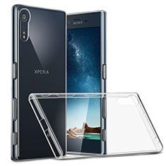 Housse Ultra Fine TPU Souple Transparente T02 pour Sony Xperia XZs Clair