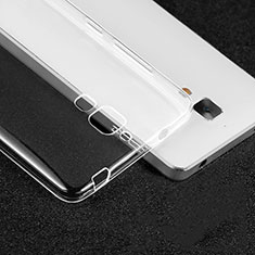 Housse Ultra Fine TPU Souple Transparente T02 pour Xiaomi Mi 4 LTE Clair