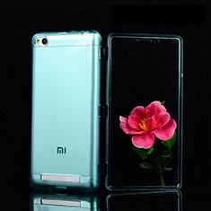 Housse Ultra Fine TPU Souple Transparente T02 pour Xiaomi Redmi 3 Bleu