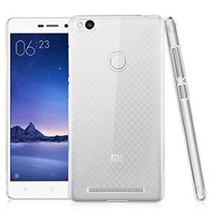 Housse Ultra Fine TPU Souple Transparente T02 pour Xiaomi Redmi 3 High Edition Clair