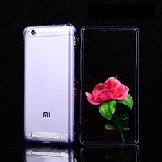 Housse Ultra Fine TPU Souple Transparente T02 pour Xiaomi Redmi 3 Violet