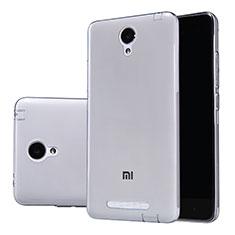 Housse Ultra Fine TPU Souple Transparente T02 pour Xiaomi Redmi Note 2 Gris
