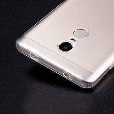 Housse Ultra Fine TPU Souple Transparente T02 pour Xiaomi Redmi Note 4 Standard Edition Clair