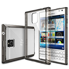 Housse Ultra Fine TPU Souple Transparente T03 pour Blackberry Passport Q30 Gris