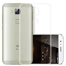 Housse Ultra Fine TPU Souple Transparente T03 pour Huawei G7 Plus Clair