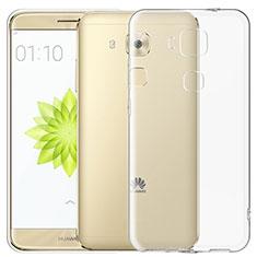 Housse Ultra Fine TPU Souple Transparente T03 pour Huawei G9 Plus Clair