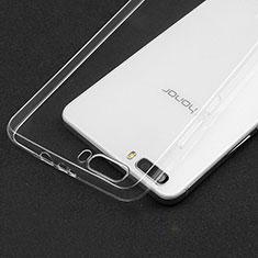 Housse Ultra Fine TPU Souple Transparente T03 pour Huawei Honor 6 Plus Clair