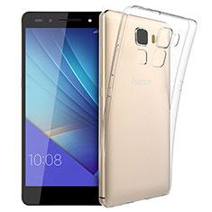 Housse Ultra Fine TPU Souple Transparente T03 pour Huawei Honor 7 Dual SIM Clair