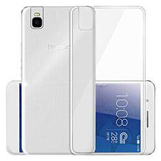 Housse Ultra Fine TPU Souple Transparente T03 pour Huawei Honor 7i shot X Clair
