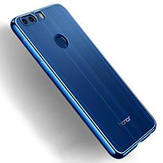 Housse Ultra Fine TPU Souple Transparente T03 pour Huawei Honor 8 Bleu