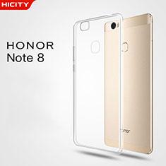 Housse Ultra Fine TPU Souple Transparente T03 pour Huawei Honor V8 Max Clair