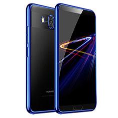 Housse Ultra Fine TPU Souple Transparente T03 pour Huawei Mate 10 Bleu