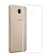 Housse Ultra Fine TPU Souple Transparente T03 pour Huawei Y5 (2017) Clair
