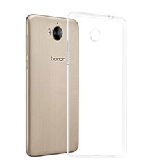 Housse Ultra Fine TPU Souple Transparente T03 pour Huawei Y6 (2017) Clair